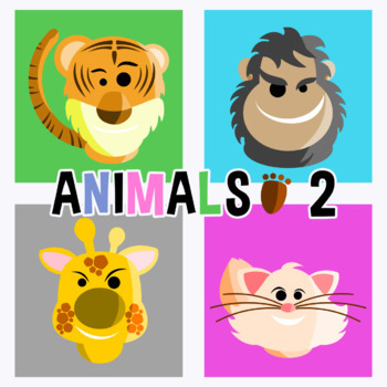 Animal Avatars - Pack 2 Clipart