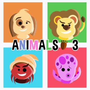 Animal Avatars - Pack 3 Clipart
