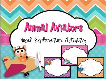 Animal Aviators Vocal Exploration Activity