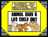 Animal Babies Life Cycles: Writing Prompts, Printables, and More Google Slides™