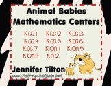 Animal Babies Mathematics Centers-Common Core