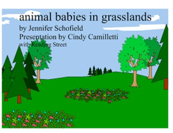 Animal Babies Smartboard Presentation