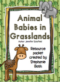 Animal Babies in Grasslands -Scott Foresman Reading Street Kindergarten