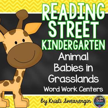 Animal Babies in Grasslands Unit 2 Week 3