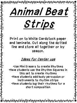 Animal Beat Strips