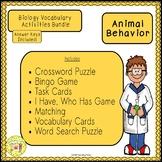 Animal Behavior Biology Bundle