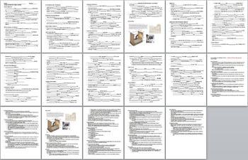 Animal Behavior Unit Bundle - 8 files
