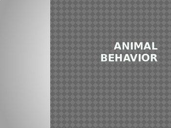 Animal Behavior and Symbiotic Relationship Notes