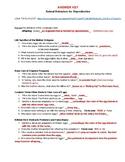 Animal Behaviors for Reproduction Films Worksheet
