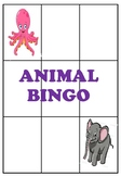 Game of Animal Bingo