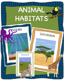 Animal Habitats Bundle