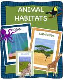 Animal Habitats Bundle