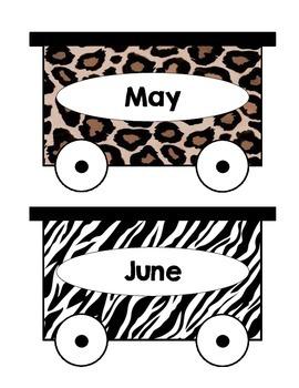 Animal Birthday Train
