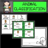 Animal Classification Cards, Games, and Interactive Journals