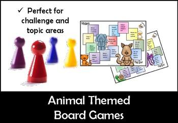 Animal Board Games