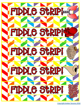 Animal Bodies Fiddle Strips!