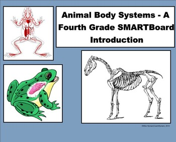 Animal Body Systems - A Fourth Grade SMARTBoard Introduction