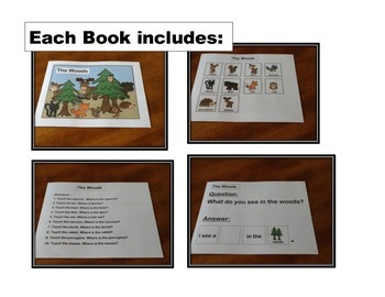 Animal Book Bundle- PreK and K