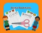 Animal  Reading Bookmark