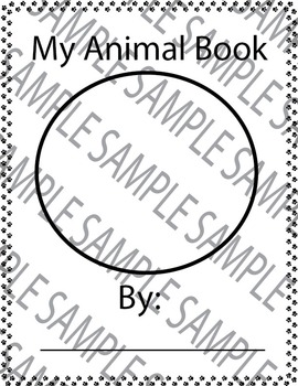 Animal Book Packet!