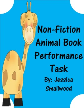 Animal Book Performance Task- Non-Fiction