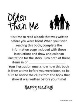 Classic Book Reading Activity w Graphic Organizer and Bulletin Board Pic
