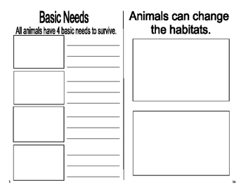 Animal Booklet