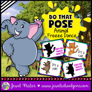 Animal Brain Breaks (Animal Freeze Dance)