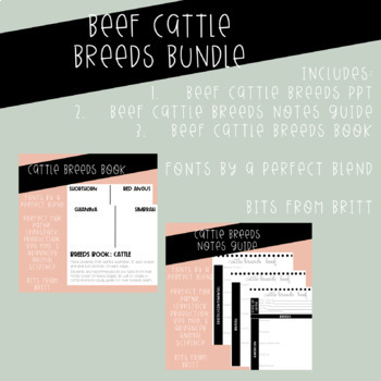Animal Breeds Units