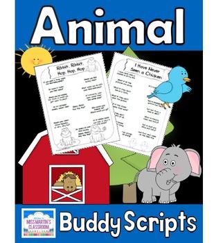 Animal Buddy Reading Scripts