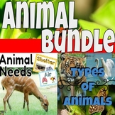 Animal Bundle- Basic Animal Needs and Types of Animals