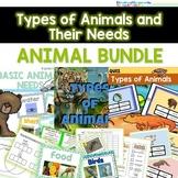 Animal Bundle- Basic Animal Needs and Types of Animals- Bo