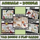 Animal Bundle - Tab Books and Flip Cards