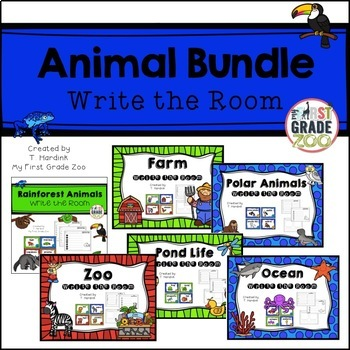 Animal Bundle - Write the Room