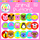 Animal Buttons Clipart