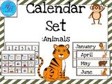 Animal Calandar Sets. Class Room Stuff. Months and Days