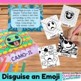 "Animal Camouflage Activity: Create a ""CAMO-JI"": Fun for Animal Adaptations"