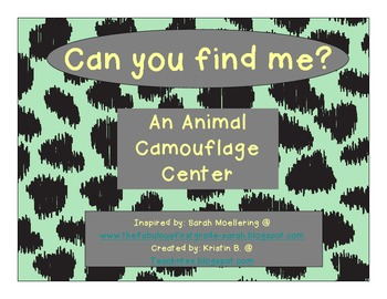 Animal Camouflage Center