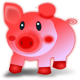 Animal Cartoon Pig of Health Smiling Ungulates