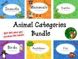 Animal Categories Bundle