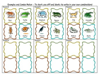 Animal Categories Game