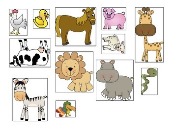 Animal Category Sort / Where do they live?