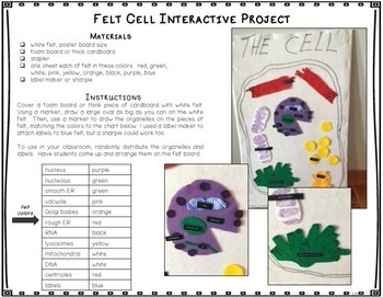 Animal Cell Craftivity, Vocab, Creative Writing, Comics, Puzzles, Differentiated