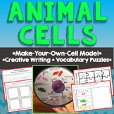 Animal Cell Model, Vocab, Creative Writing, Comics, Puzzles, Differentiated