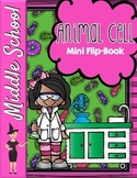Animal Cell Organelles Mini Flip-Book