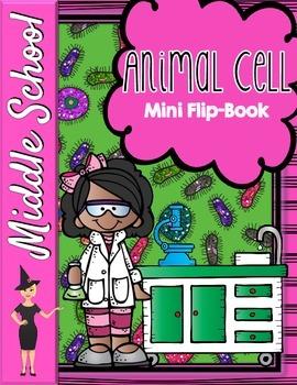 Animal Cell Organelles Mini Flip-Book