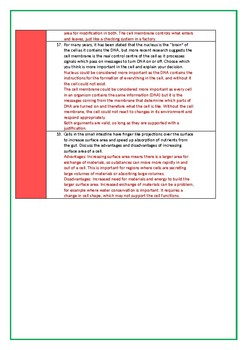 Animal Cell Structure and Function Worksheet (Bloom's Taxonomy)