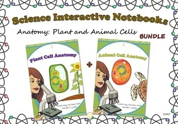 PDF Science Interactive Notebook BUNDLE of Cells: Animal and Plant, Handouts