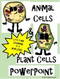 Animal Cells & Plant Cells PowerPoint Presentation