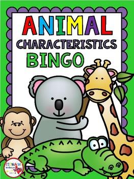 Animal Characterisitcs BINGO